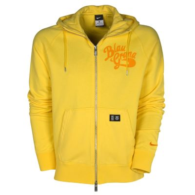 Fashion Hoodies Boys on Barcelona Authentic Aw77 Full Zip Hoodie   Tour Yellow  Vivid Orange