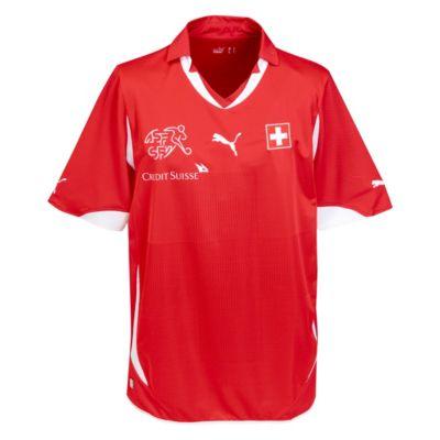 Switzerland Home Shirt