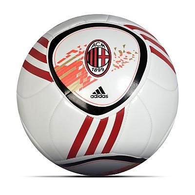 adidas AC Milan F50 X-ite Football - White/Black/Acm Red