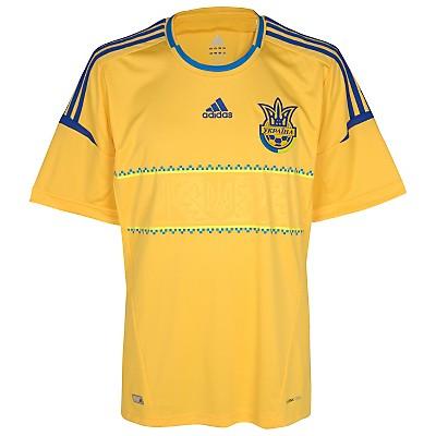 Camiseta de Ucrania en la Eurocopa 2012