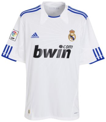 Real Madrid Home Shirt 2010/11
