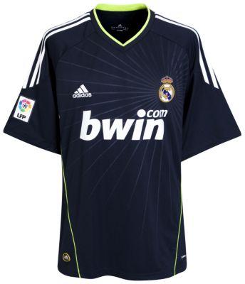 Real Madrid Away Shirt 2010/11