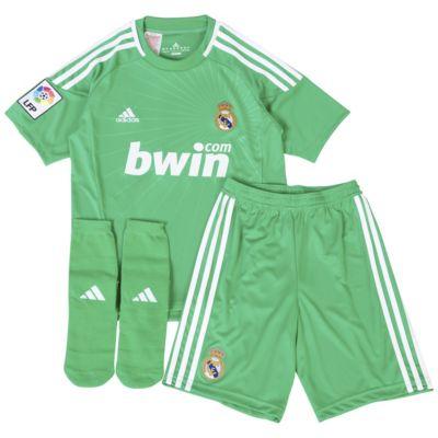 Real Madrid Home Goalkeeper Minikit - Signal Green/White